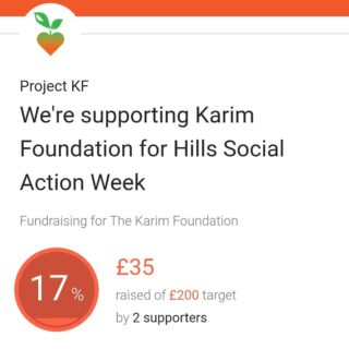 ⚪ LINK IN BIO ⚪   Please support our campaign by kindly donating via our JustGiving page! Help us raise funds to support the most vulnerable in our Cambridge community 💚🧡 #HillsSocialAction