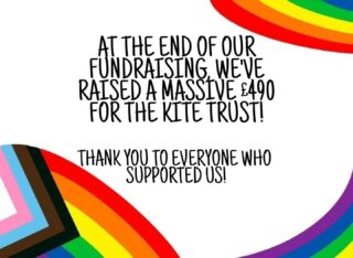 A great end to #HillsSocialAction week! Thank you to everyone who supported us in reaching our goal!  Alongside hills4kitetrust we have raised over £600 for thekitetrust to help support LGBTQ+ youths!