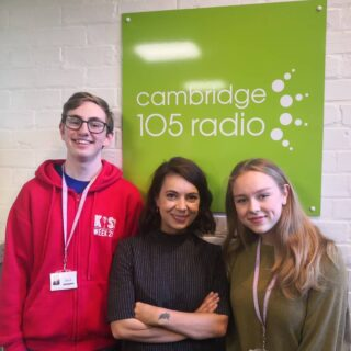 Good morning Hills Road Students!!! Epic interview with @cambridge105 all about #hillssocialaction this morning!! Big motivation for you to use the hashtag and get the local people of Cambridgeshire involved in your fundraising!! #developingyoungpotential